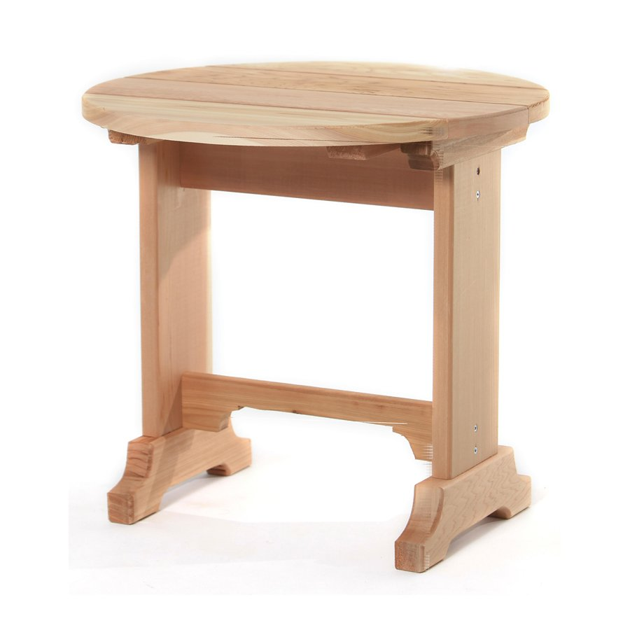 patio accent tables hampton bay pembrey table all things cedar outdoor round end lowe small thin side living room furniture white with drawer mini chest drawers rattan drum west