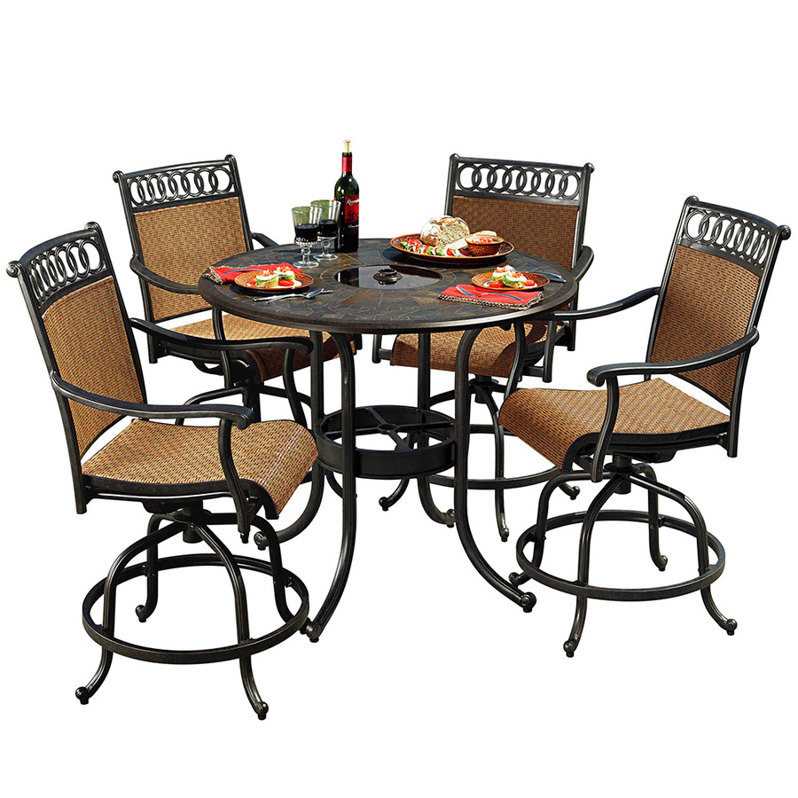 patio amusing outdoor dining sets ultimate furniture clearance black steel round height table with glass accent wicker and metal swivel chairs tables red ginger jar lamps winnipeg