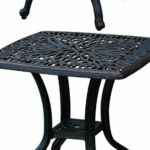 patio end table square cast aluminum outdoor furniture desert side clearance bronze camera kit technology gadgets racing plans pier one cushions white and gold small foyer dark 150x150