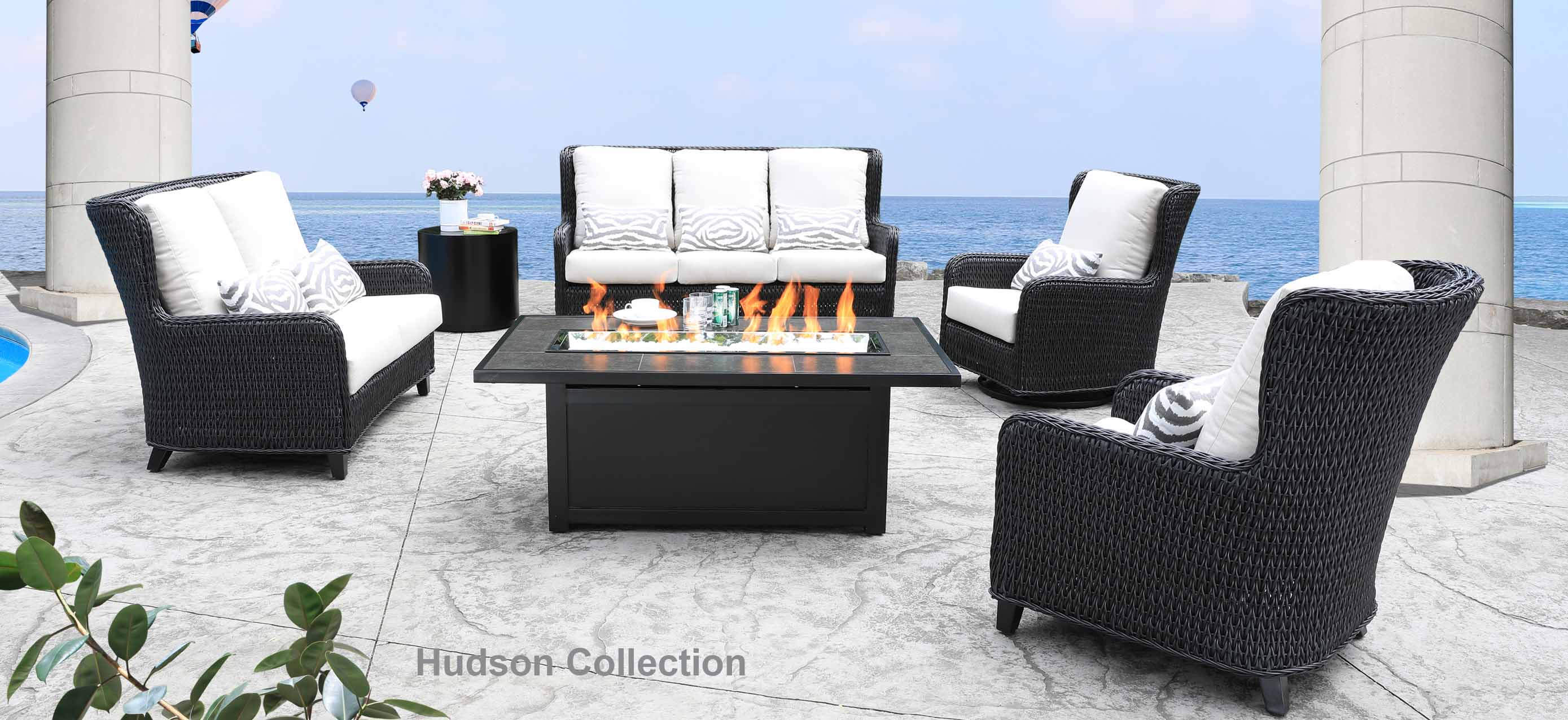 patio furniture cabanacoast hudson swing mississauga outdoor wicker glider canadian tire side table chaise lounge replacement parts miami inch cushion vintage double yard person