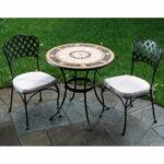 patio glamorous rattan set bistro outdoor clearance round side table with black metal legs dining chairs west elm owl lamp drum end half moon accent marble coffee chest cherry 150x150