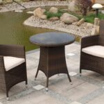 patio glamorous rattan set used wicker furniture high back espresso chairs round frameless glass side table outdoor brown teak vancouver modern accent with drawer front porch 150x150