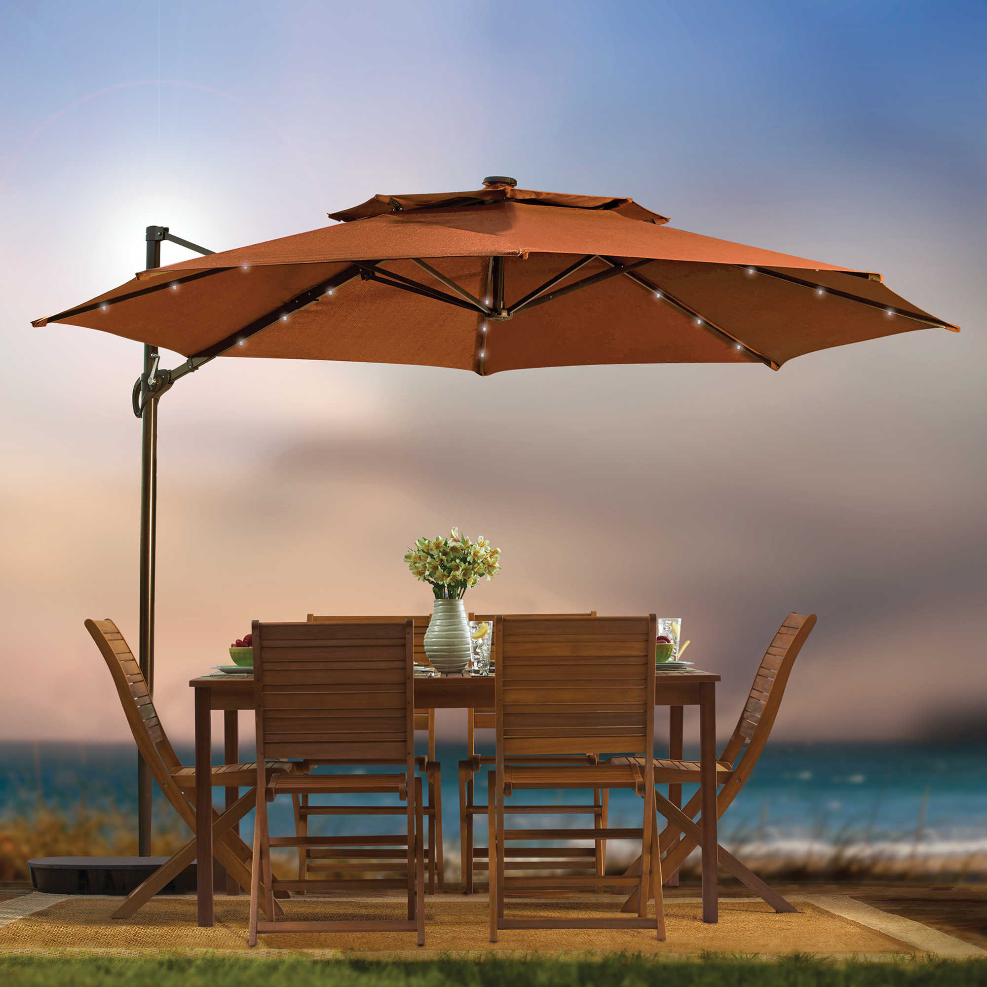 patio ideas large cantilever umbrella with teak furniture set and vase design swing arm outdoor coffee table ikea sunbrella pillows deluxe metal bench inexpensive hammocks antique