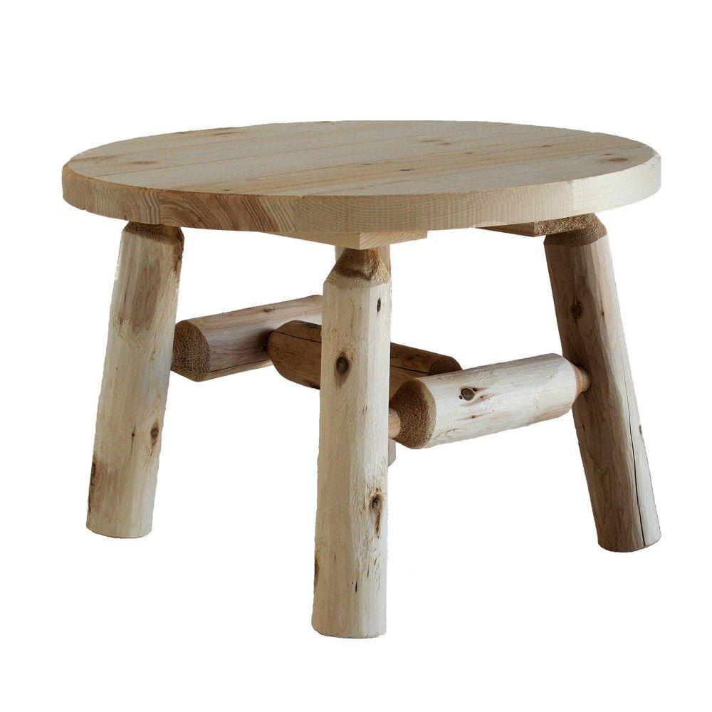 patio round table coffee accent rustic sturdy unfinished wood lakeland mills outdoor side tables furniture bangalore small rectangular bohemian office lighting piece pub set ikea
