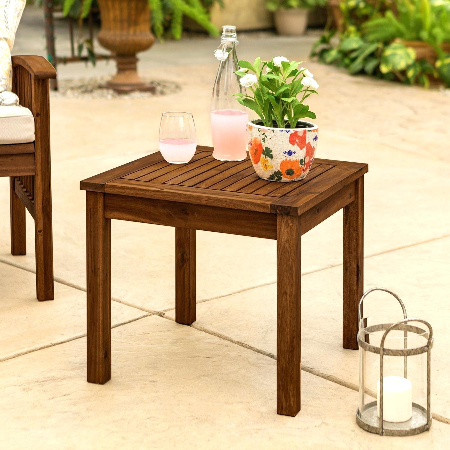 patio side table info tables outdoor accent kitchen cupboards the furniture pottery barn dishes lamp with usb port vintage drawers slim console retro cabinet mainstays marble