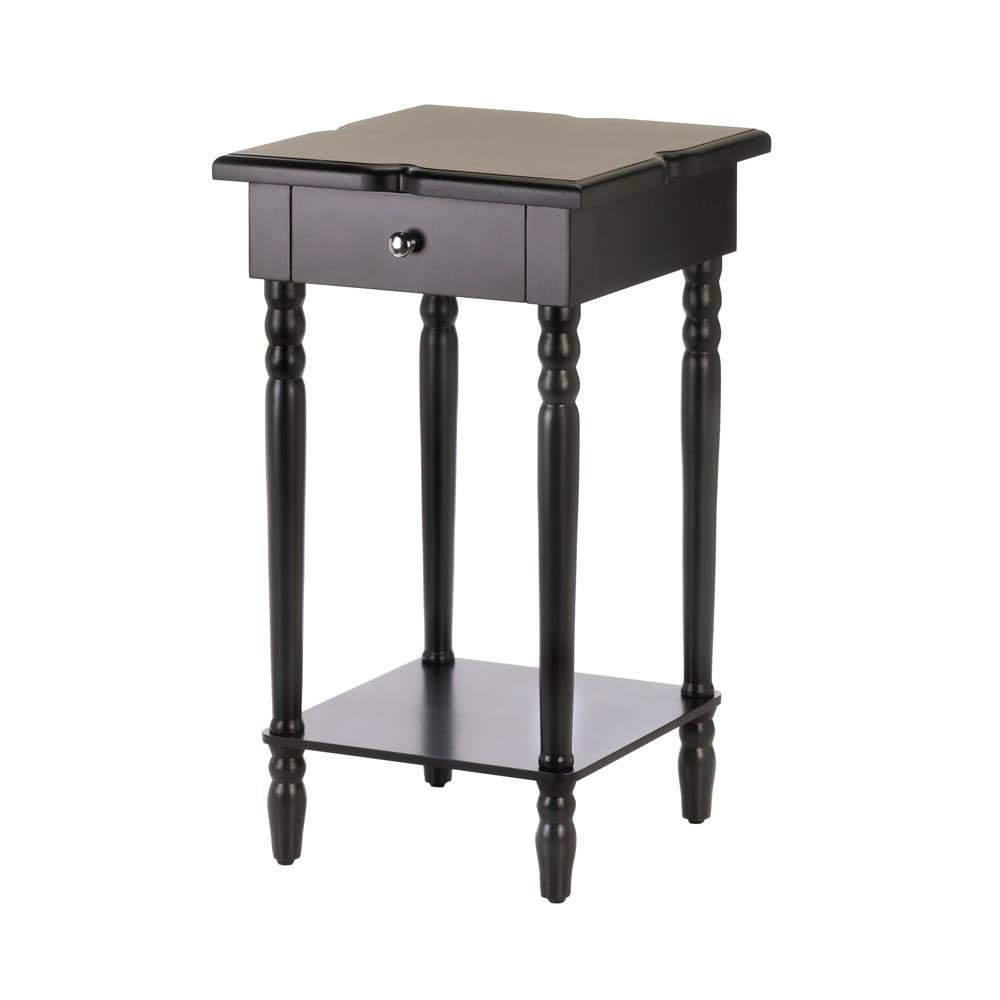 patio table decor hampton black modern side bedroom indoor accent jcpenney rugs clearance foot long sofa nightstands bedside tables bathroom styles small coffee glass outdoor