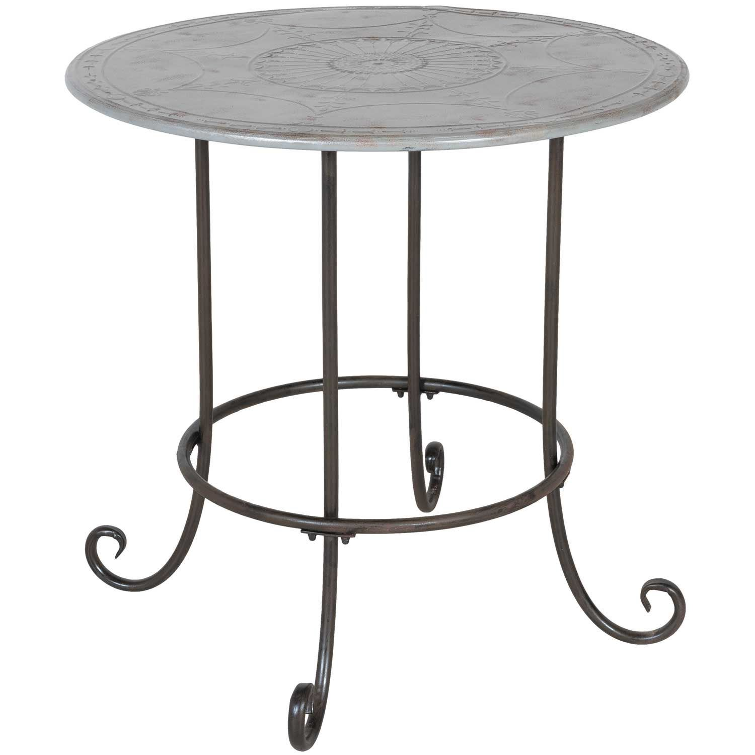 patio table outdoor side round target legs metal glass white iron base drum wrought accent corranade bronze tables top full size modern style end small square grey and unique