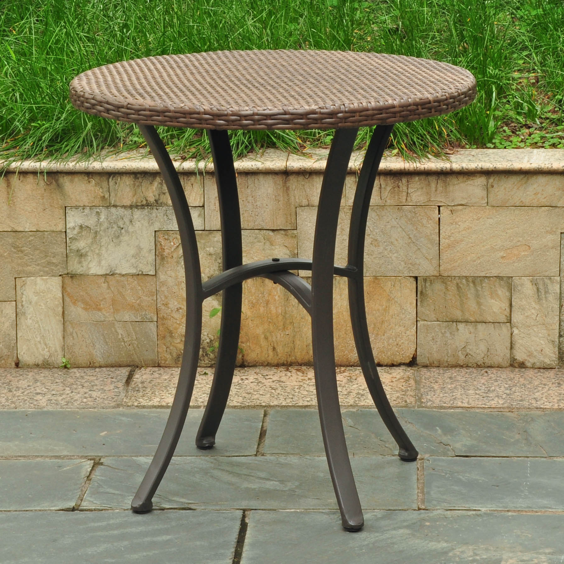 patio tables abn outdoor side table resin quick view centre for drawing room wooden wine racks kohls end armless living chairs victorian style coffee and drink cooler blue united