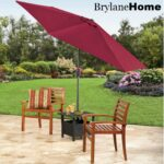 patios sunshade umbrella patio large offset umbrellas big tilt base with wheels covers outdoor side table storage furniture for small spaces nautical tures folding nic bunnings 150x150