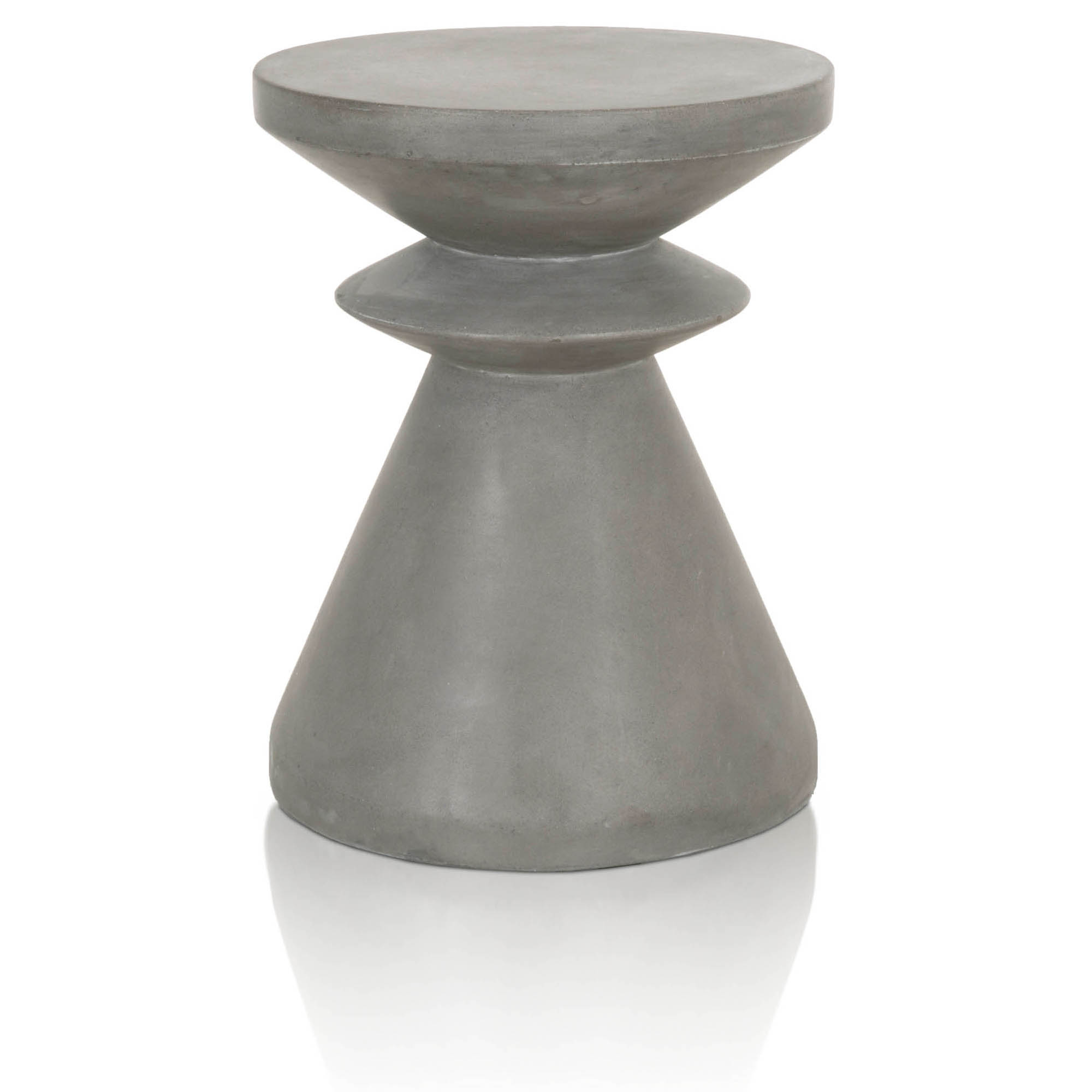 pawn accent table end slate grey concrete white ceramic chairs and cast aluminum coffee small lamp hand painted furniture slim side for less metal cabinet legs target floor rugs