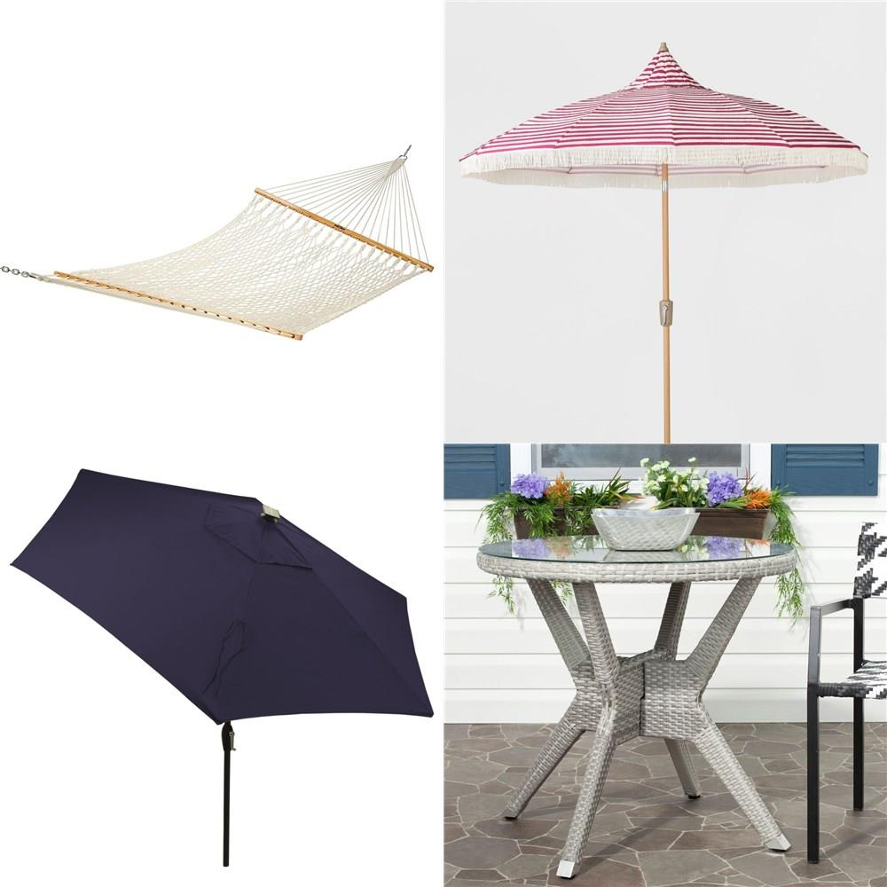 pcs outdoor furniture used like new damaged box threshold umbrella accent table auction lamps for living room traditional stacking coffee tables large pier one coupons console