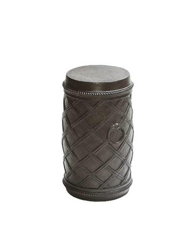 peak season cast stone table garden outdoor inspired visions moroccan espresso round accent inch drum pub set tables small mirror black console ashley furniture desk wicker trunk