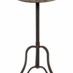 pearl metal end table reviews joss main eyelet accent nautical ceiling fans with lights average coffee height trestle legs large barn door dining room patio beer cooler kitchen 150x150