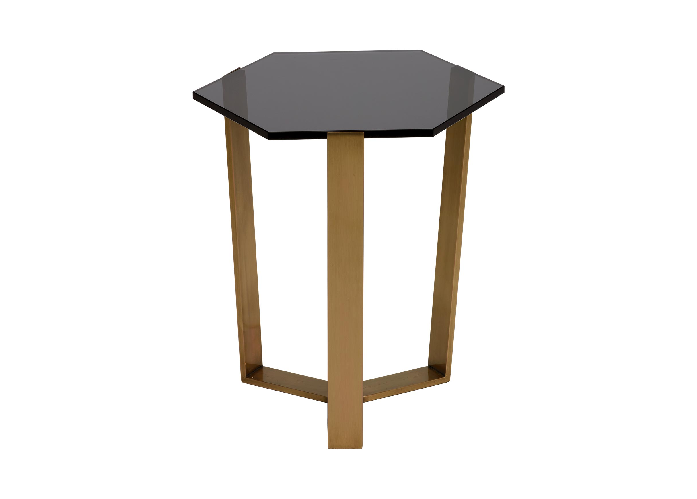 pearle smoky glass and brass accent table ethan allen metal pier one small tables cherry wood dining room wine rack modern hallway furniture bedroom tan plastic tablecloths white