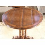 pedestal accent table upscale consignment wood view detailed door chest long black coffee glass stacking tables ashley furniture queen west elm round mirror the bay outdoor 150x150