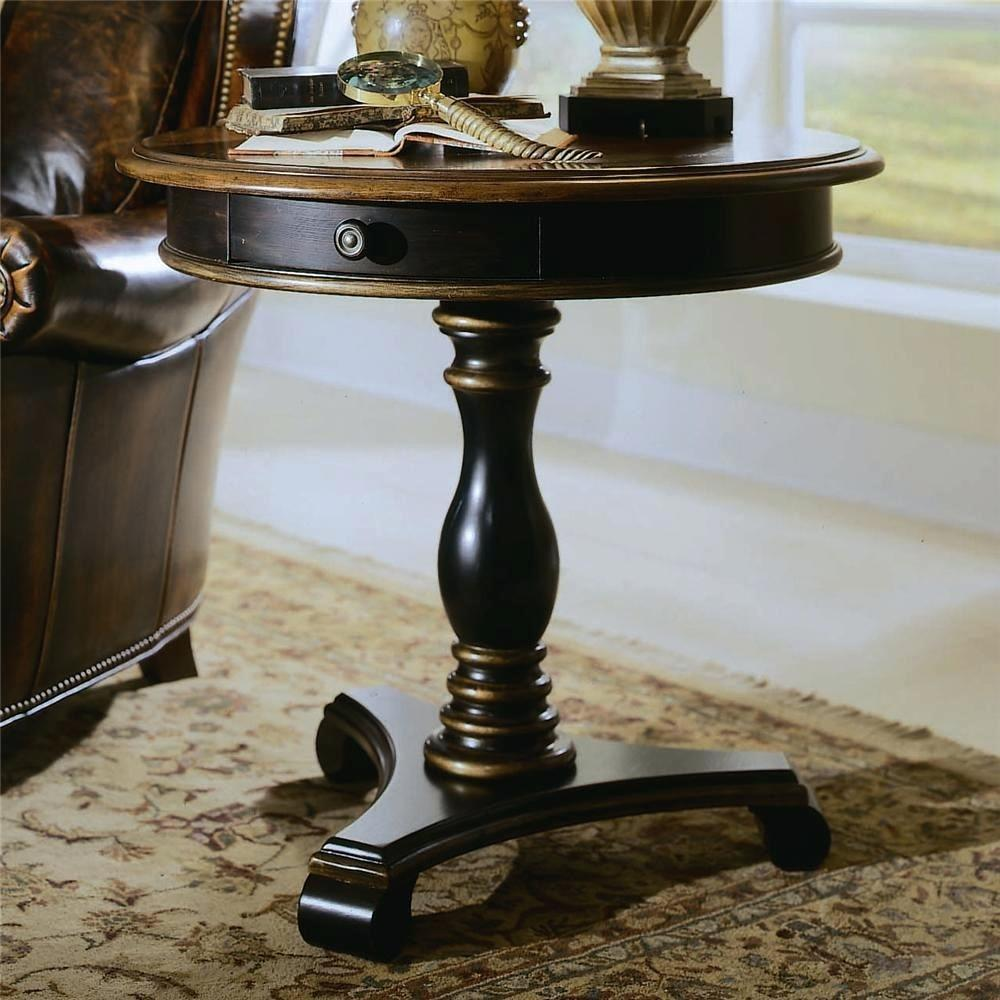 pedestal accent tables champagne mirror table tall hooker furniture ridge round cherry wood dining ikea patio black marble top toronto small vintage console green coffee pottery
