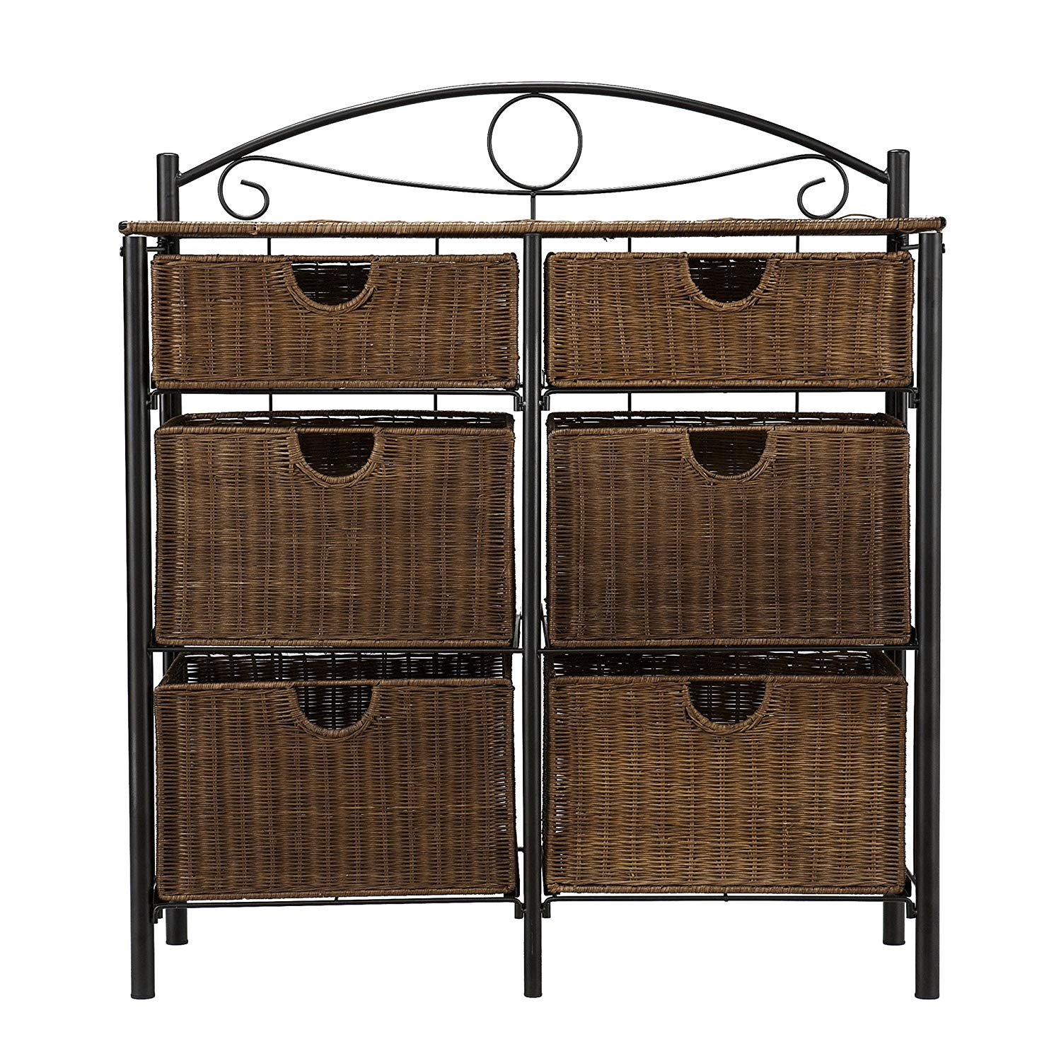 pemberly row iron wicker storage chest black kitchen accent table dining pier with high cherry oak end tables white outdoor furniture cocktail telephone bar height bistro set