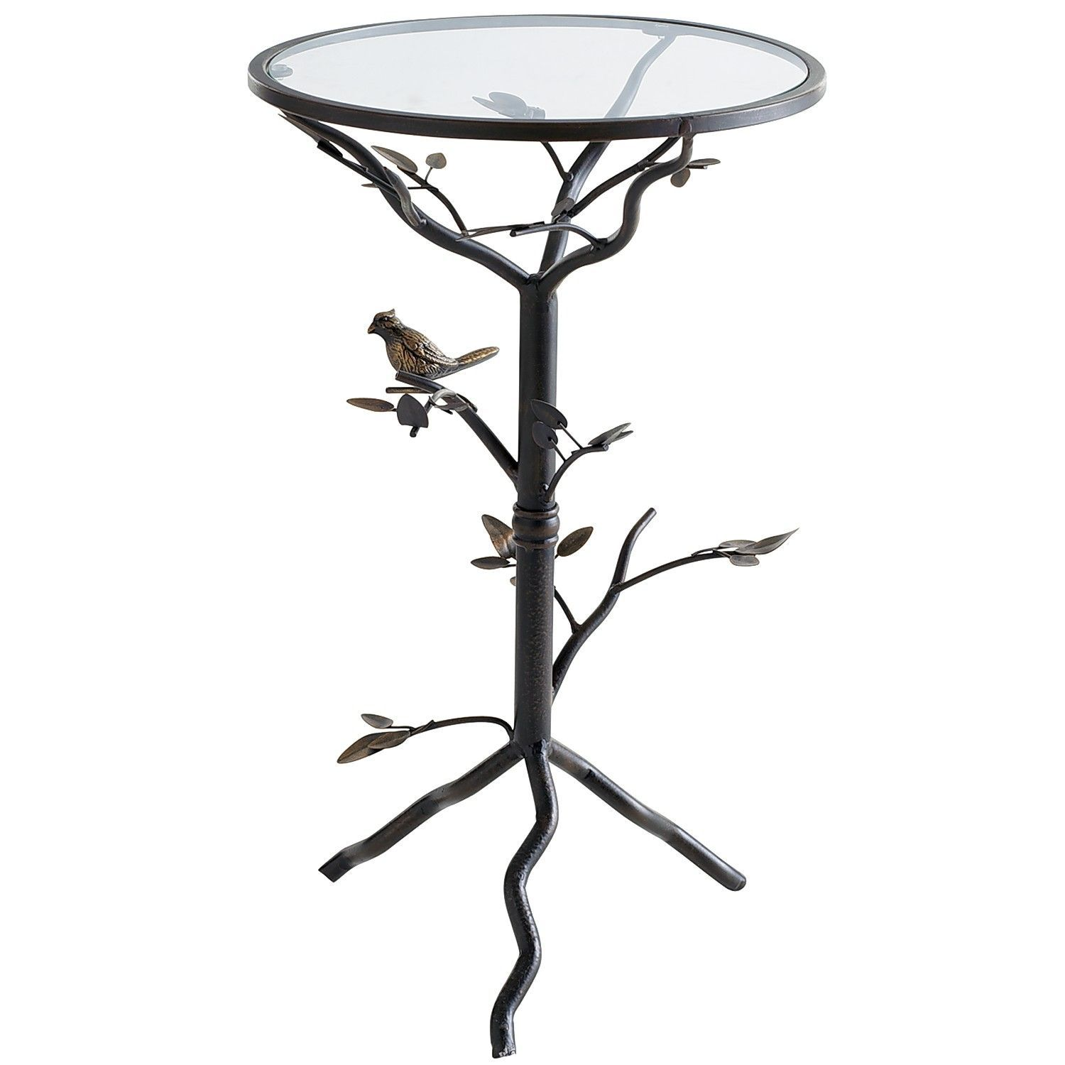 perched bird accent table appoint penthouses kenzie room ideas and porch bathroom stand target mission coffee campaign side nautical bar lights tiffany lamps foyer console mirrors