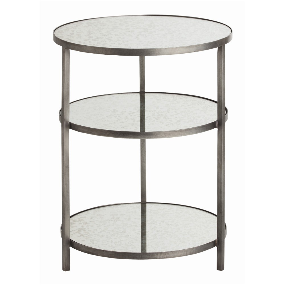 percy end accent table round tiered iron arteriors metal beverage tub with stand garden beer cooler vintage acrylic coffee teal and chairs white nesting tables wicker outdoor
