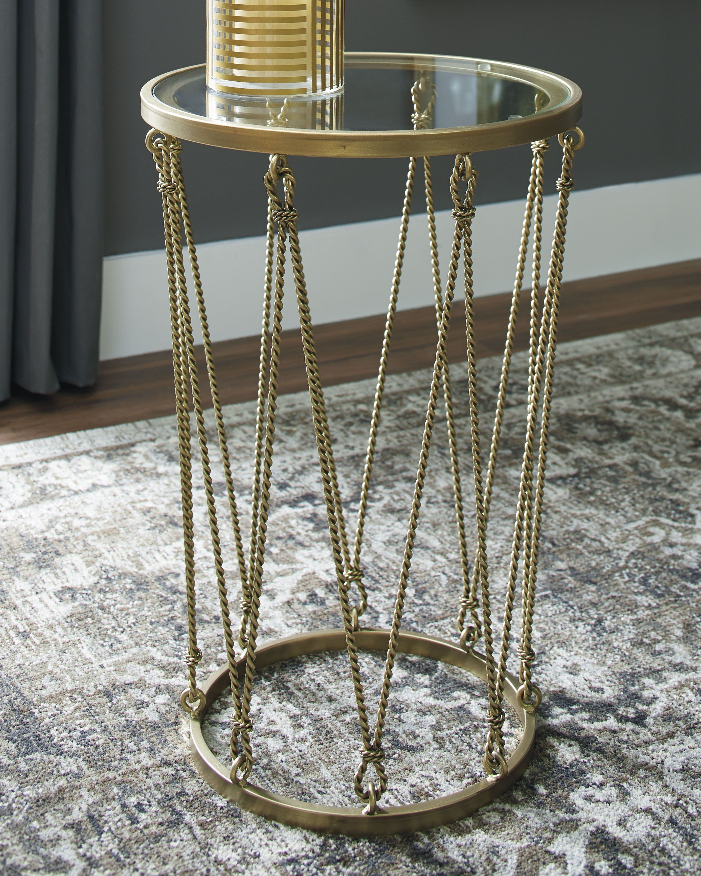 perfect home furniture mirimyn round accent table msrp pier one ott front porch and chairs counter pub weber kettle piece chair side set gold trunk coffee mirrored cube end