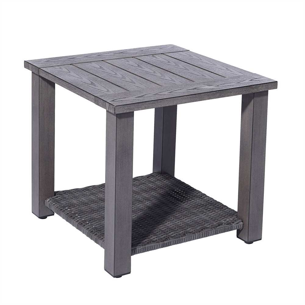 perfect outdoor side table for allen roth colridge square patio ideas inch tablecloth pub height kitchen changing pad antique folding white and wood bedside west elm rabbit lamp