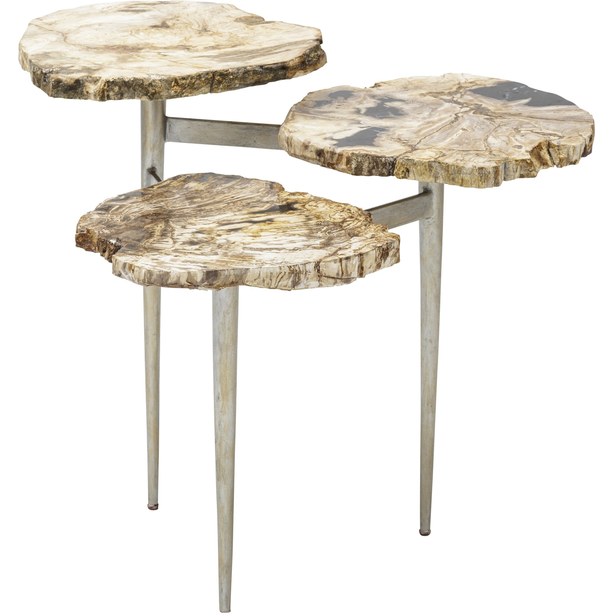 petrified wood tier table furniture accent tables end what new tulsa walnut bedside trestle coffee tray pottery barn wine holder vintage retro dining and chairs wicker with