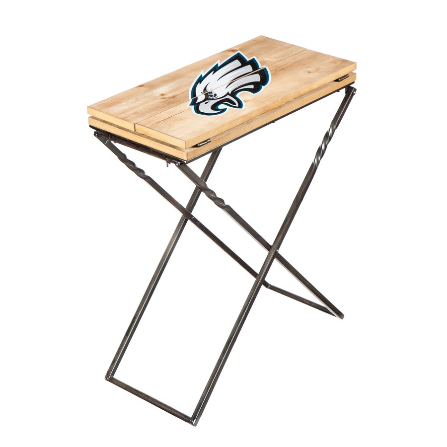 philadelphia eagles folding armchair accent table thumb aspx metal kennedy green chair wooden dining and chairs target entry west elm unfinished wood console beer cooler coffee