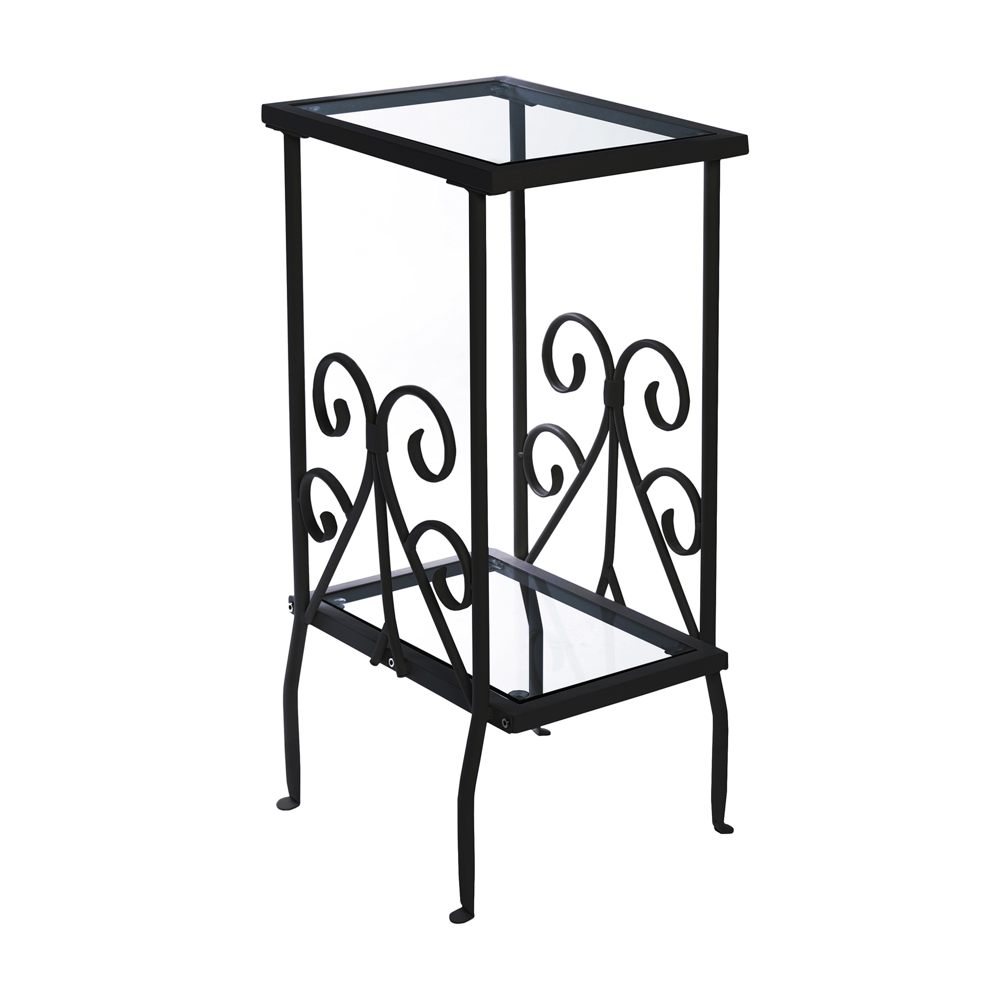pia glass top accent table blackmetal side tablemodern black pub metal with end tables small square white coffee chairs calgary french style marble console set espresso colored