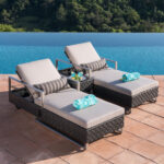 piece chaise lounge set moawlnjg woven accent table featuring loungers with thick brick weave resin wicker over hand welded aluminum frame and side for that afternoon snack chest 150x150