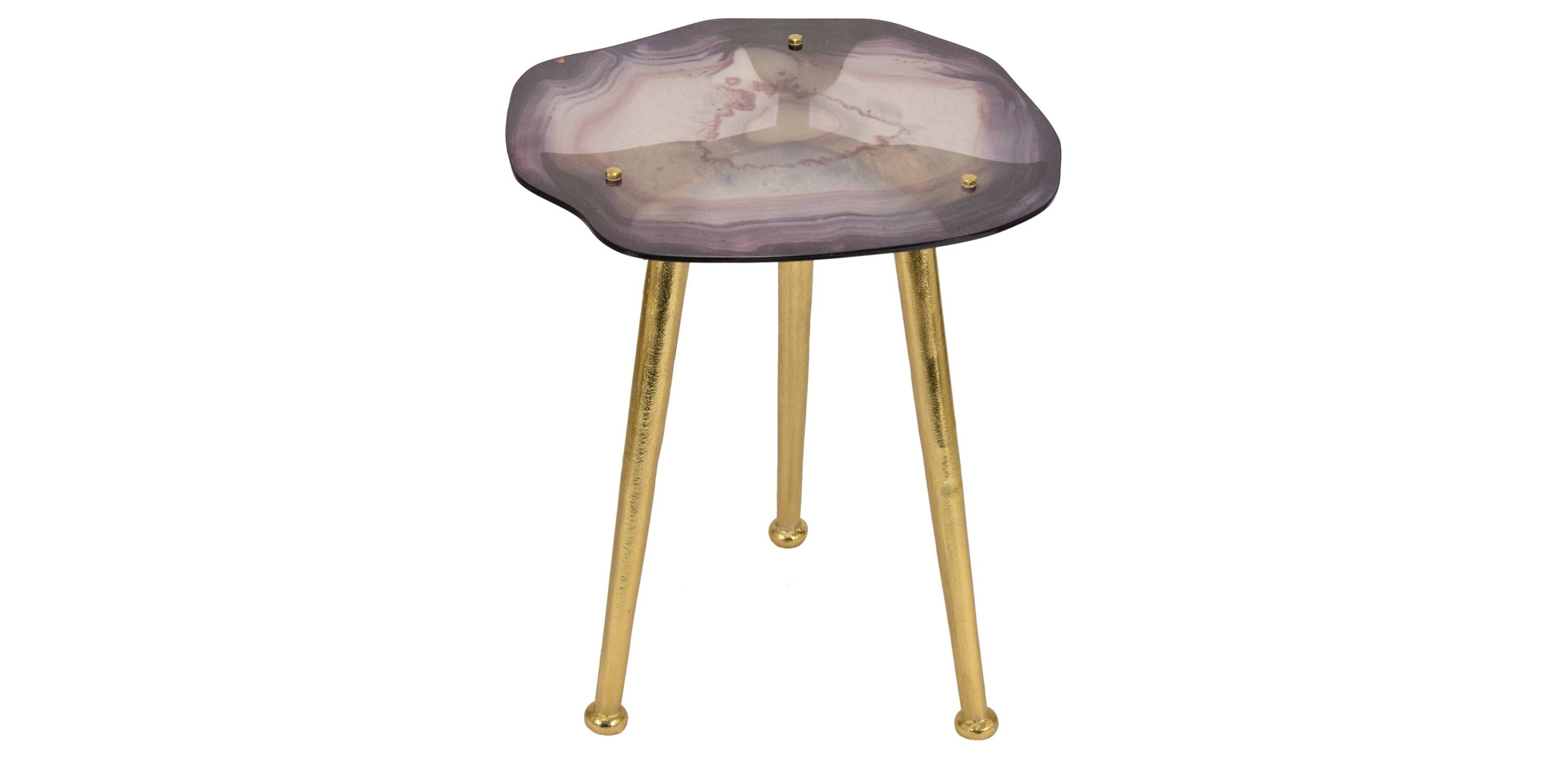 pieces you need from target big home nate berkus round gold accent table with marble top the waving pattern and blur hues contrasts sharp legs glass agate this side has natural