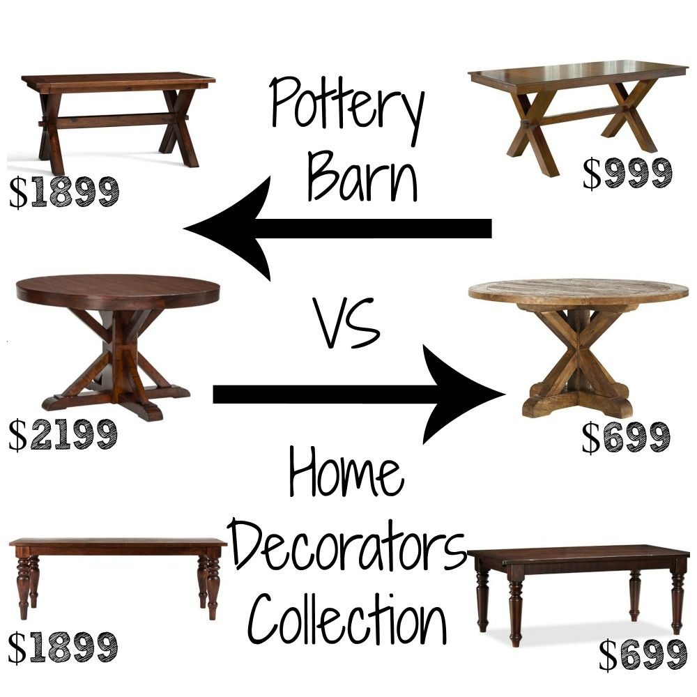 pin decor look alikes pottery barn jamie accent table dining tables homedecorators large turned legs wine rack with drawer drum throne backrest coastal cottage lamps ikea kids