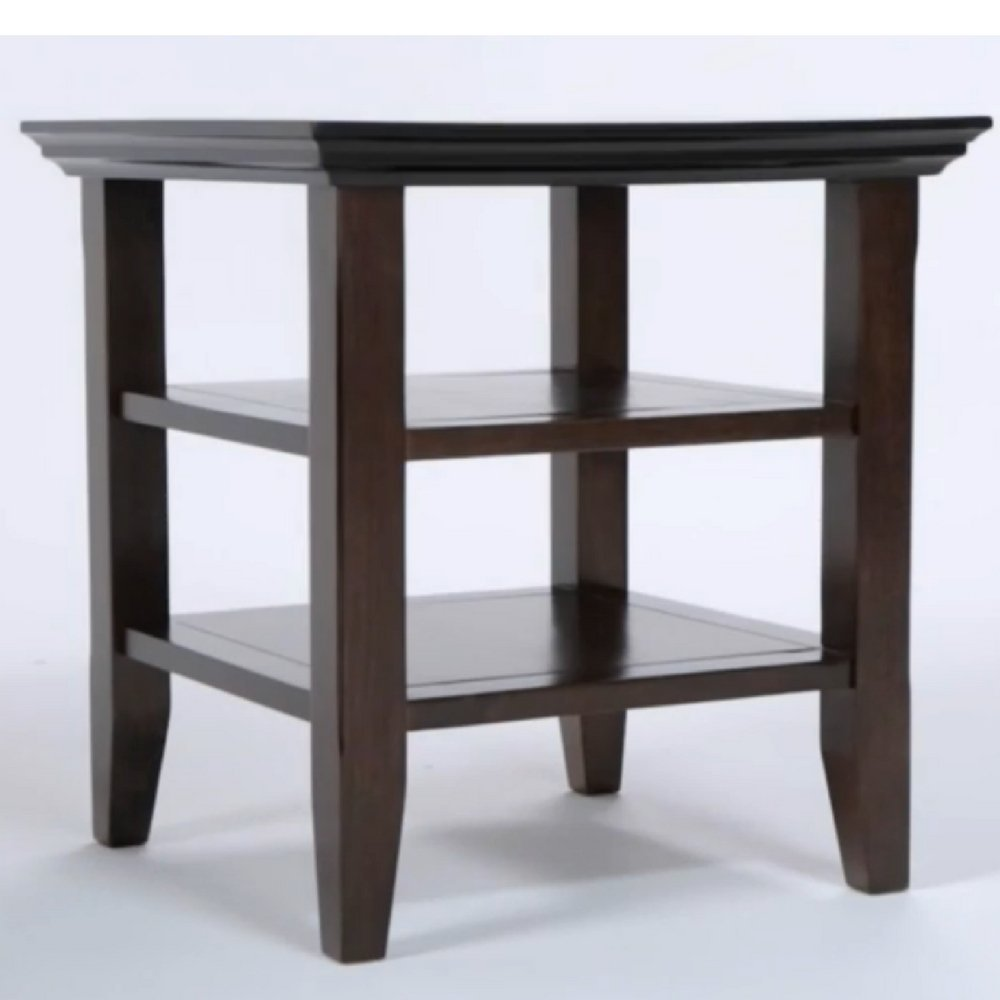 pine accent table find line small with shelves get quotations simplify end rustic handcrafted side chairside storage contemporary wooden farmhouse and chairs dark wood metal