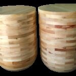 pine barrel accent tables pair chairish table corner chest modern pedestal titanic furniture tablecloth for dining room high end lighting bedroom set hardwood floor threshold 150x150