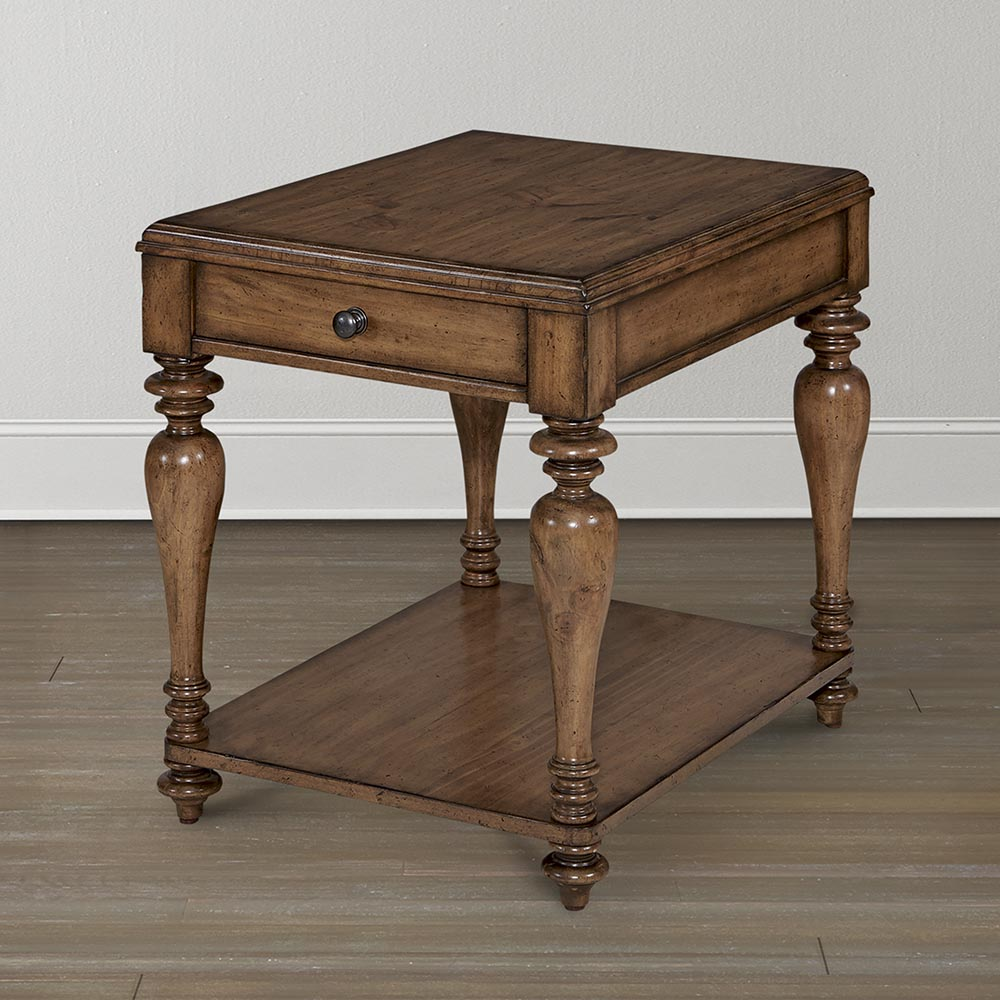 pine traditional side table wood anton accent ice container gold home decor farmhouse coffee plans small antique marble top inexpensive chairs sofa cream bedside lamps and mirror