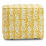 pineapple yellow fabric indoor outdoor accent ott table small patio with chairs diy umbrella stand for balcony oval glass top new coffee black corner computer desk hutch sauder 150x150