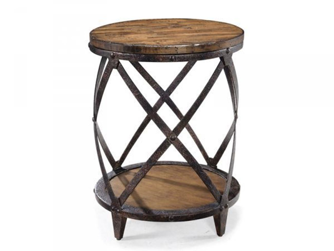 pinebrook round accent table woodstock furniture mattress iron ture amazing coffee tables large with storage chest timber trestle legs high bedside traditional dining room ikea
