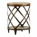 pinebrook round end table schneiderman furniture minneapolis accent paul ashley leather sofa burlap tablecloth tall bedside lamps vintage couch styles designer tables with drawers 150x150