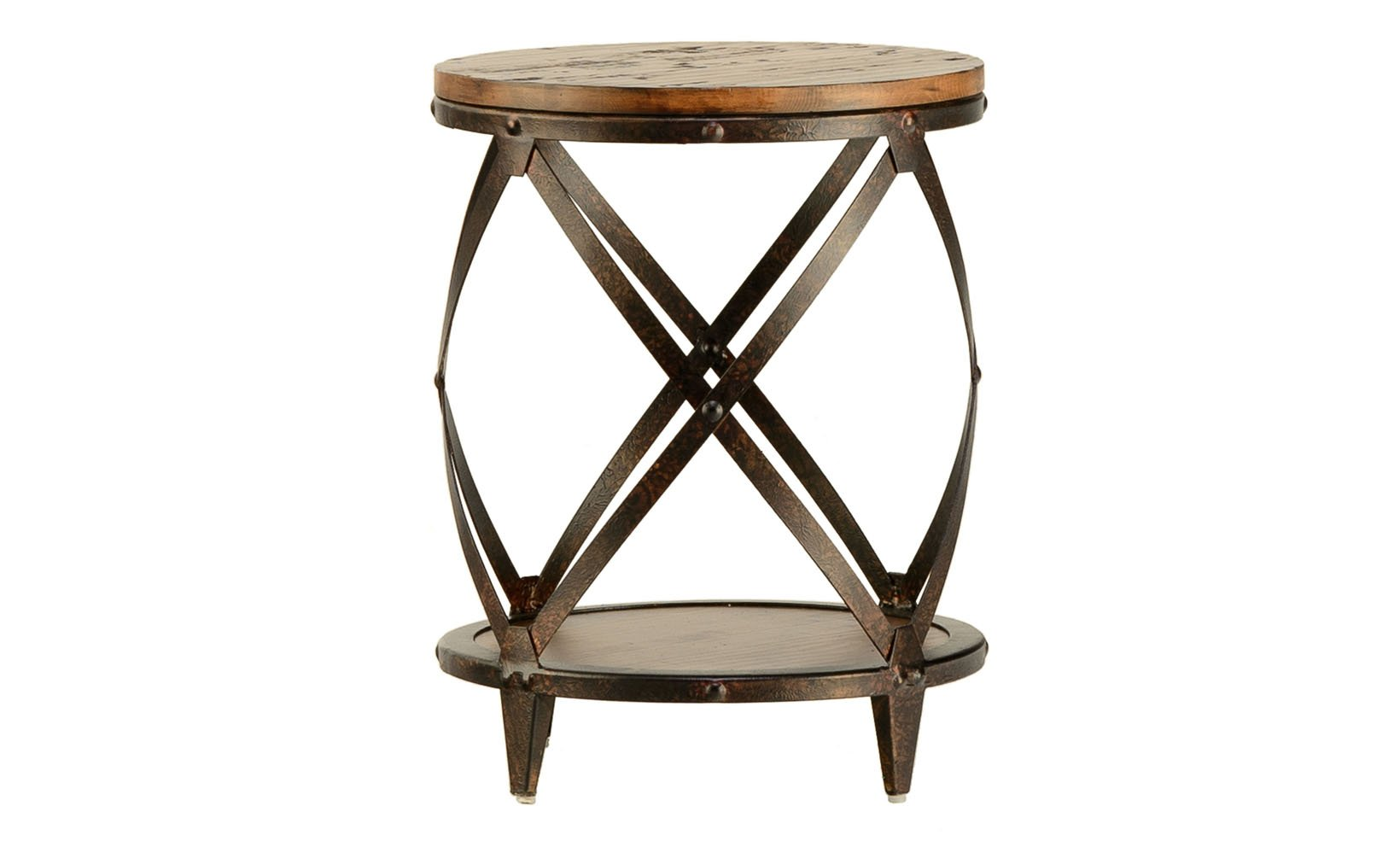 pinebrook round end table schneiderman furniture minneapolis accent paul with bbq built small wheels ikea ashley leather sofa unique wine racks antique low metal console garden