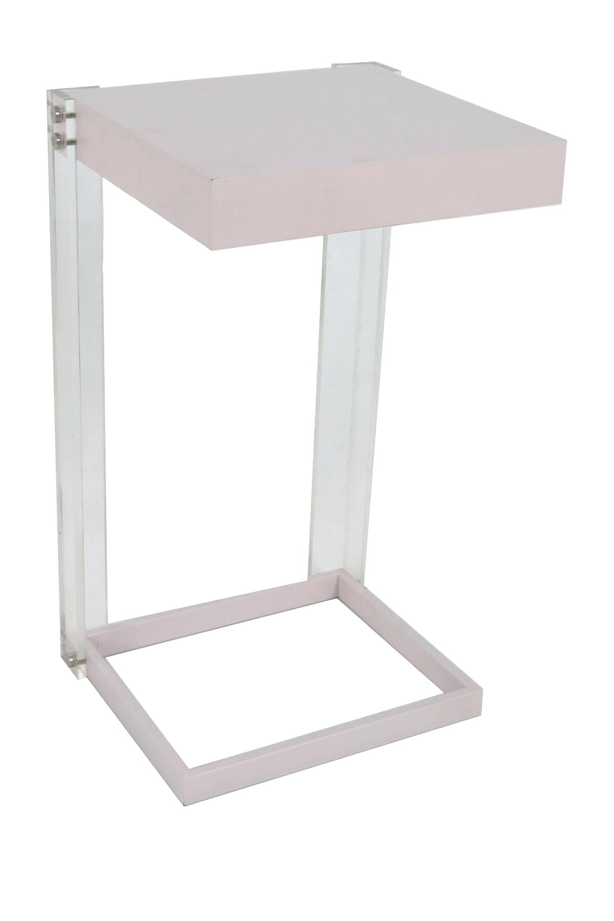 pink accent table home acrylic wood light floating metal threshold gold wooden chest coffee modern night lamp rustic half moon wicker patio and chairs round end tables white