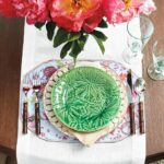 pink and green mother day table how decorate mothers ballard designs accent setting inspired bunny williams leaf plate from marble dining chairs office lighting mid century modern 150x150