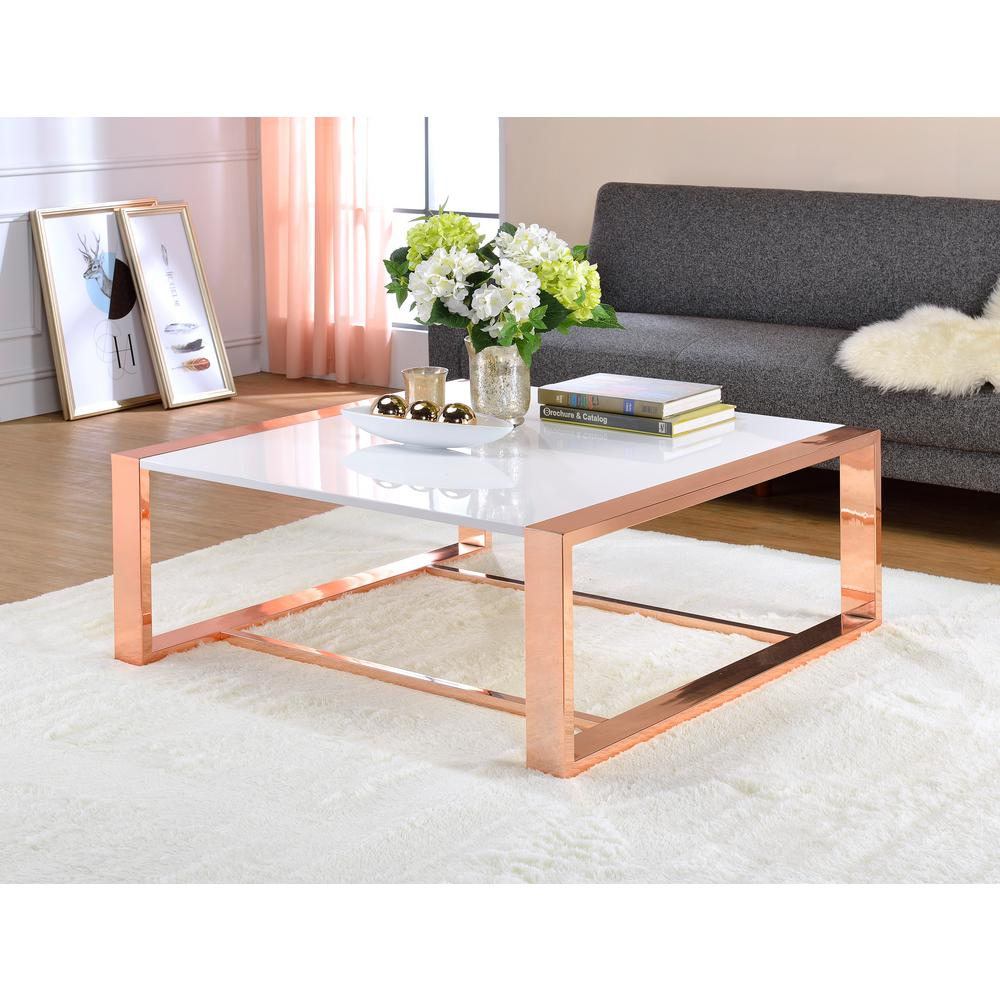 pink marble top end tables probably super best the white acme furniture porviche high gloss and rose gold coffee table sets target accent dog mattress small mirrored stool