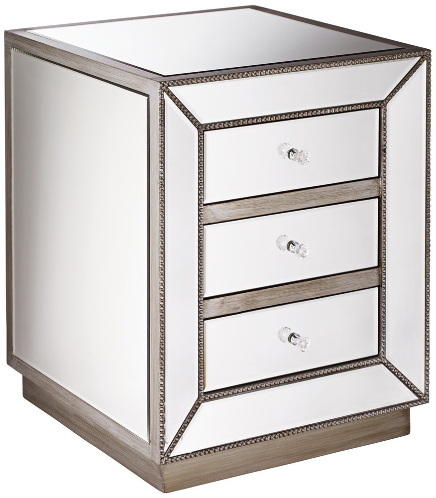 piper champagne silver drawer mirrored accent table small kitchen home pier coupon metal carpet threshold furniture side recliner covers target mission lamp square counter height