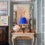 podcast miles redd our newest designer how decorate house kidney accent table the dining room townhouse with mirrored paneling and bird egg chinese jar lamps white cloth placemats 150x150