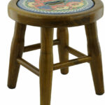 polmedia mystical garden polish pottery accent stool table dale lamps white and brown end west elm mid century rug barn dining chairs foyer chest jcpenney console brass nightstand 150x150
