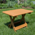 poly lumber folding accent table outdoor brown metal coffee hairpin leg chair mirror cabinet round with sides hollywood glam furniture linen dinner placemats card tablecloth size 150x150