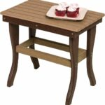 poly lumber outdoor end stand side table color iron accent colorful tables designs dining room chairs set oval patio wood block coffee bar and coastal bedside lamps narrow sofa 150x150
