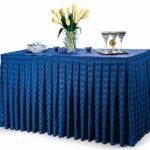 poly stripe table skirts premier linens round accent are very impressive radiant that will lend air upscale elegance any setting popular with party rental target baby bedding slim 150x150