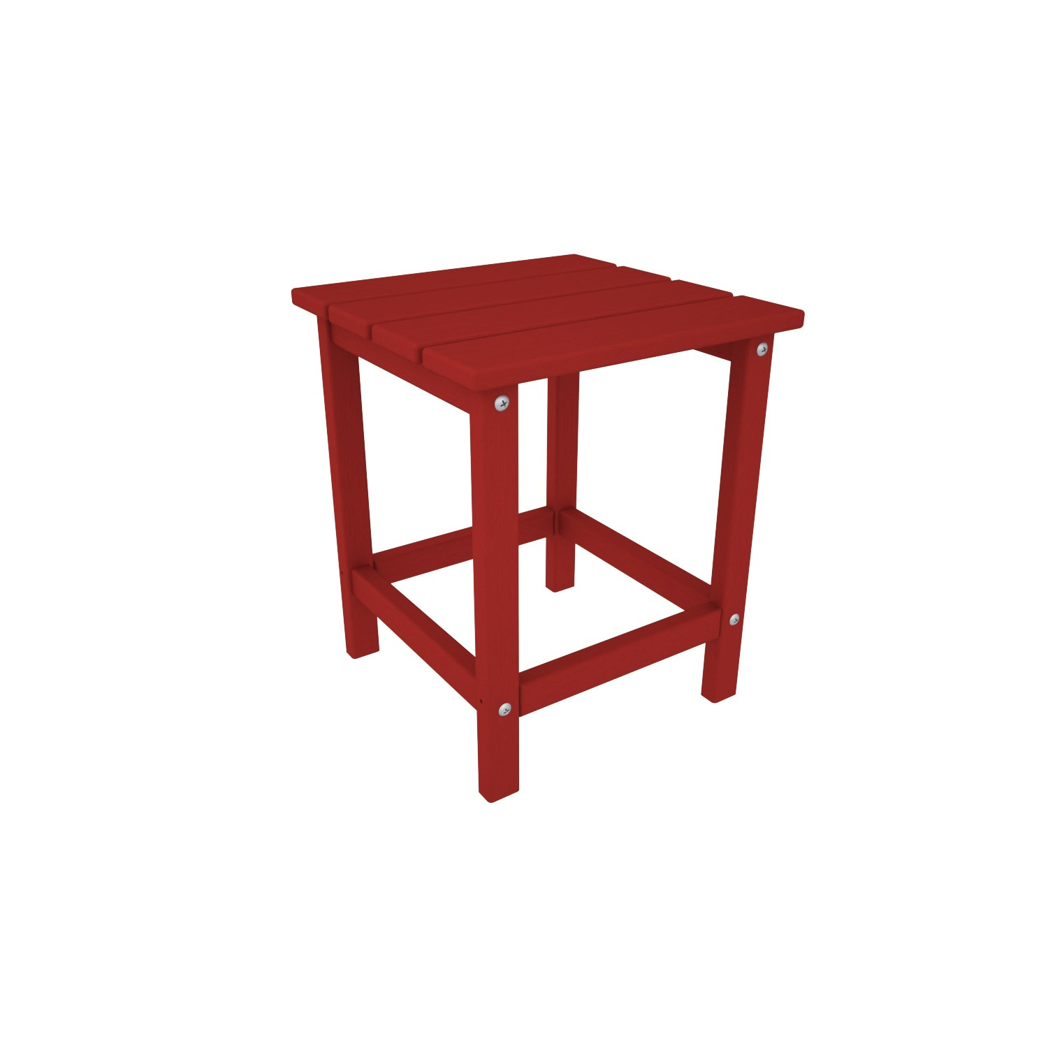 polywood long island outdoor side table the simple white red accent large round dining runner carpet edge strip display coffee ikea mid century replica furniture diy kitchen