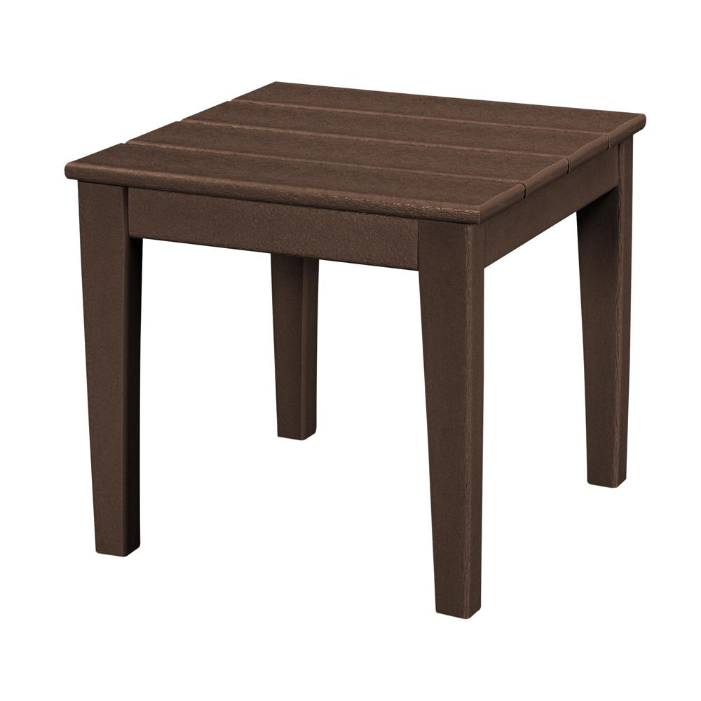 polywood newport square plastic outdoor side table tables small half moon console with drawer ashley furniture company modern style wooden farmhouse decorator tablecloths aluminum