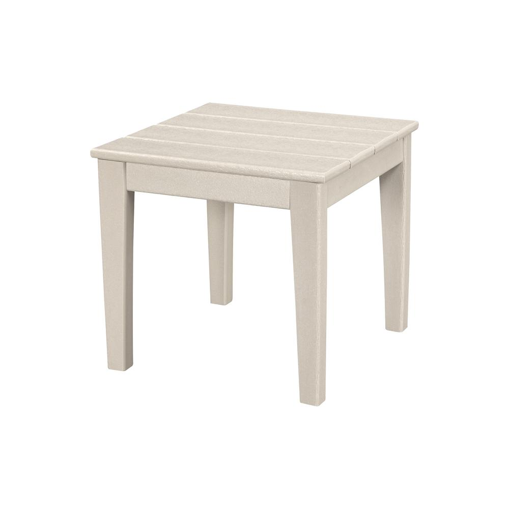 polywood newport square plastic outdoor side table tables small nautical white ceramic lamp pier gift card with shelves mid century wood coffee dining room lights furniture moving